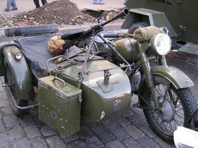 Мотоцикл М-72