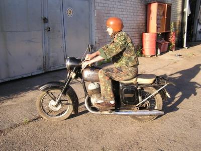 Мотоцикл ЧЗта