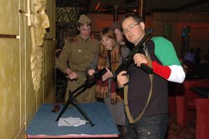 Разборка пулемета Калашникова